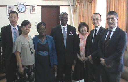 JICA Team pays courtesy call on Health Minister