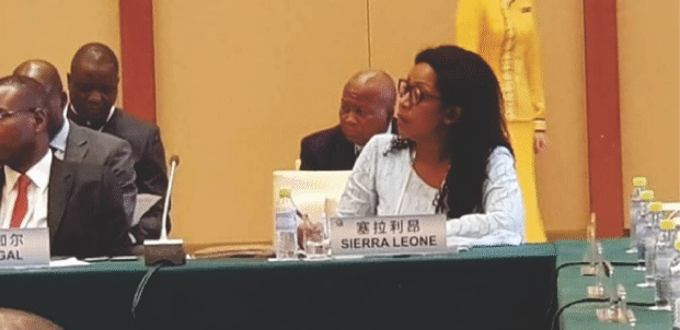 In China…. Deputy Minister Showcases Sierra Leone