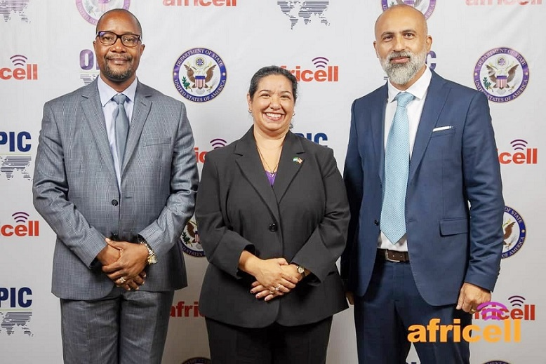 Africell reaffirms its relationship with OPIC at Sierra Leone meeting