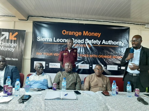 To Ease Payment of Traffic Fines… Orange Sierra Leone Partners with SLRSA