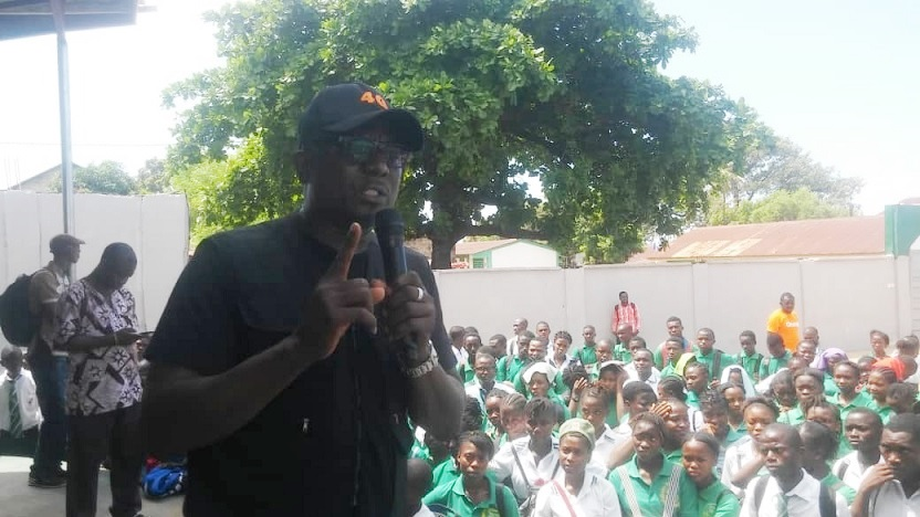 Services Secondary School Juba Benefits from Orange Sierra Leone