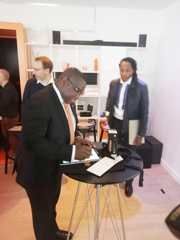 In Paris… Orange CEOs Hosts President Bio