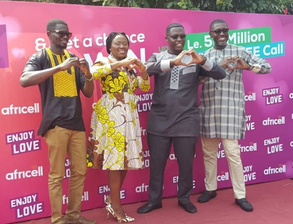 With a Bang… Africell Launches Valentine Enjoy Love Promotion