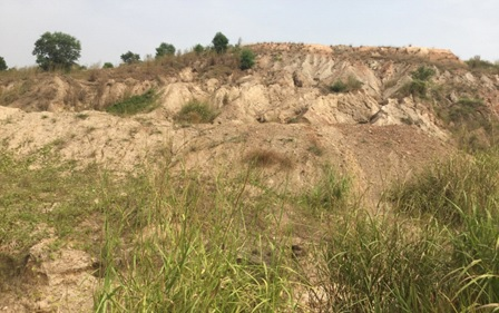 Aftermath of London Mining operation in Lunsar… Cemetery Turned Dumpsite