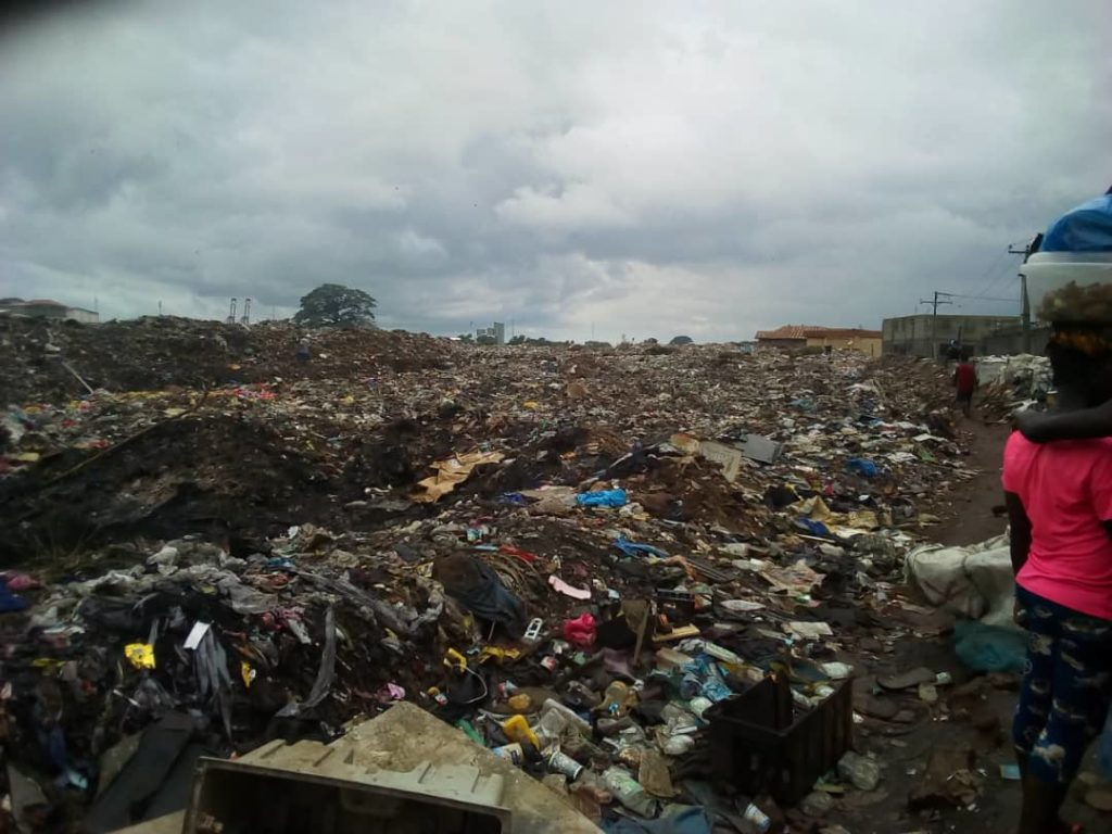 Bomeh Dump Site Is a Disaster
