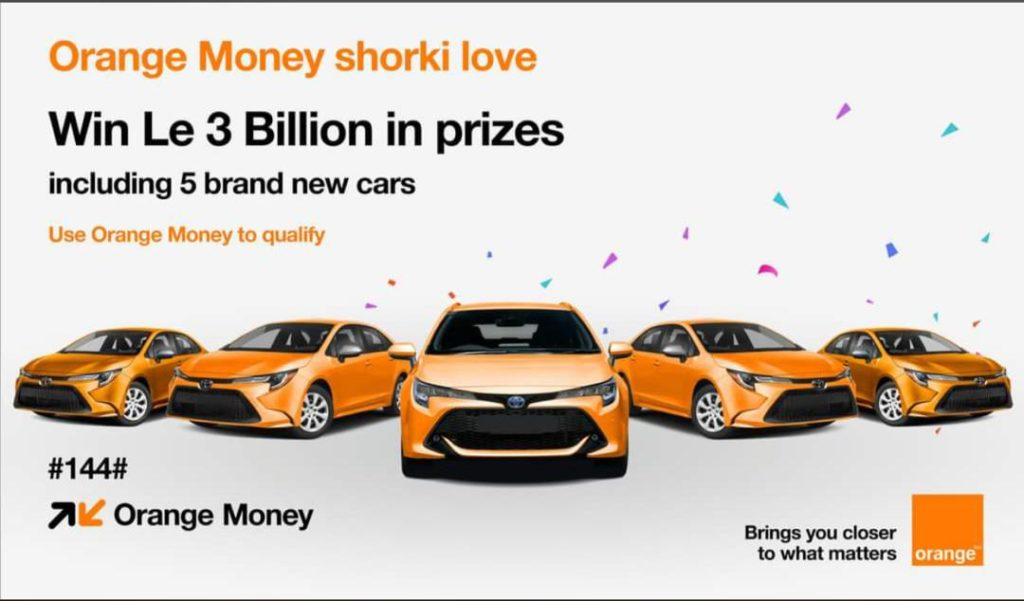Orange Money Launches Le3Bn. End Of Year Promotion