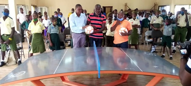 Sierra Leone Olympafrica's Teqball Table Commissioned