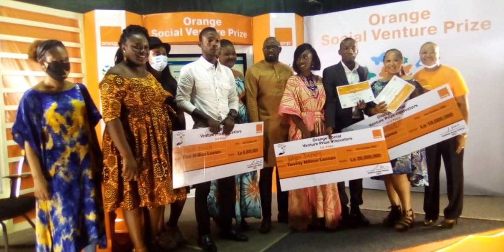 Orange-SL Empowers Social Venture Winners